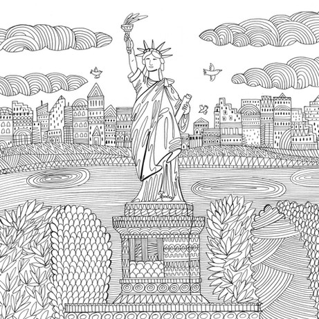Statue of Liberty- Kay Widdowson