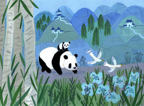 Panda Ride - Kay Widdowson