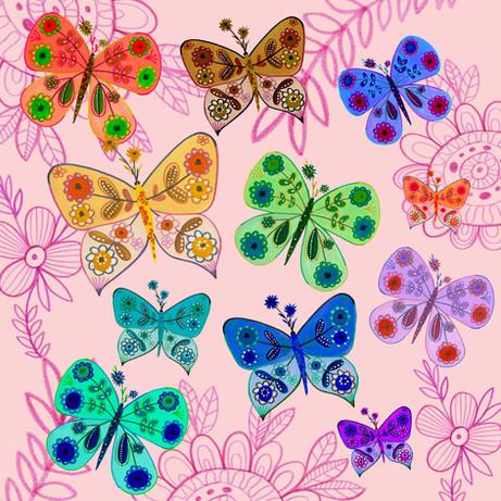 Butterflies- Kay Widdowson