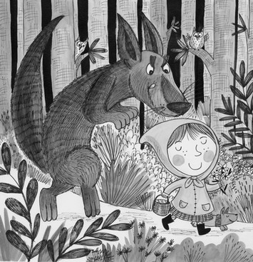 Little Miss Red - Kay Widdowson