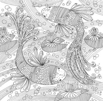 Swishy Fish - Kay Widdowson