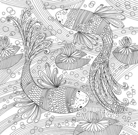 Swishy Fish- Kay Widdowson