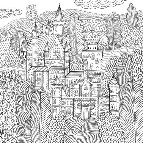 Neuschwanstein Castle- Kay Widdowson