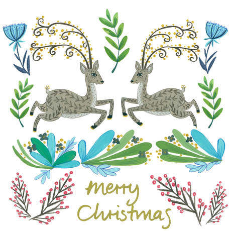Christmas Forest- Kay Widdowson