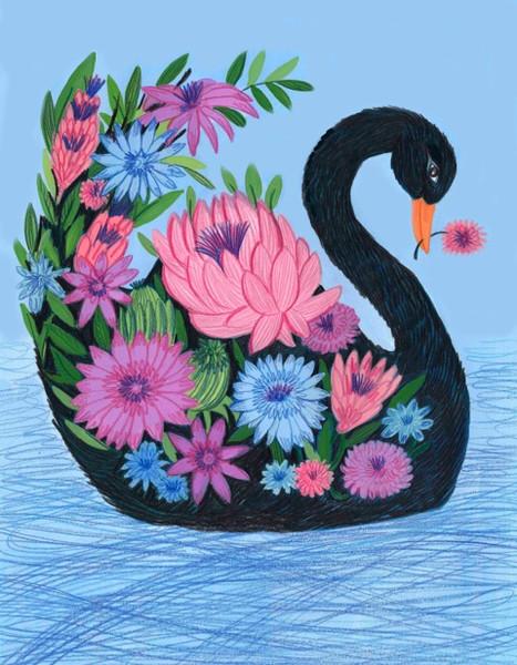 Flower Swan - Kay Widdowson