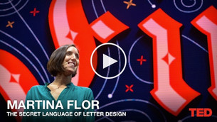 The joy of letters TED talk