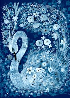 Blue Swan - Kay Widdowson