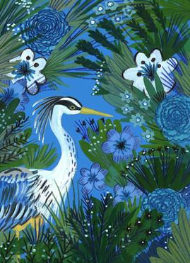 Mr Heron - Kay Widdowson