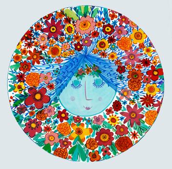 Face plate - Kay Widdowson