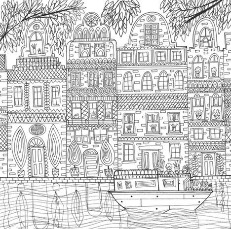 River Houses - Kay Widdowson