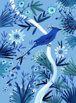 Blue Bird - Kay Widdowson