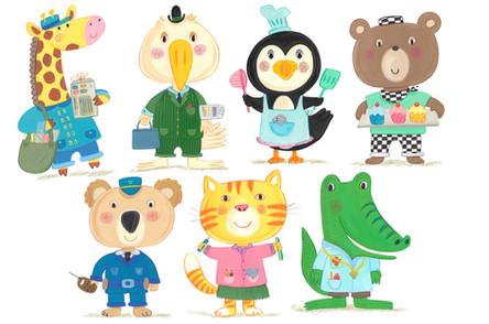 Cute Characters- Kay Widdowson