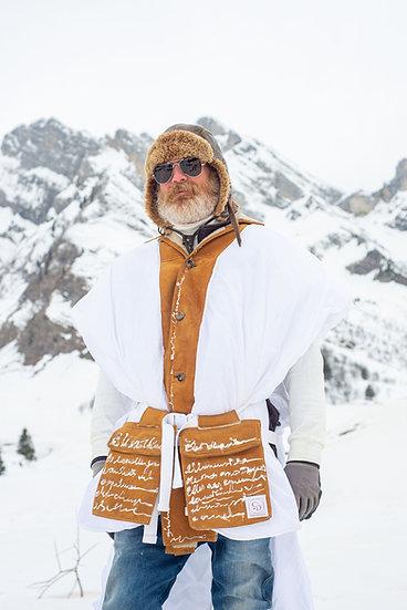 Poncho Ski-Couture