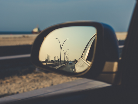 IF YOU DON'T CHECK YOUR MIRRORS, YOU'RE GOING TO CRASH...