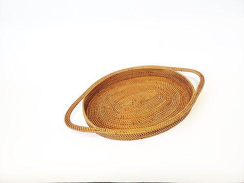 Oval Atta Tray