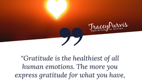 Gratitude is the best gift I could ever give!