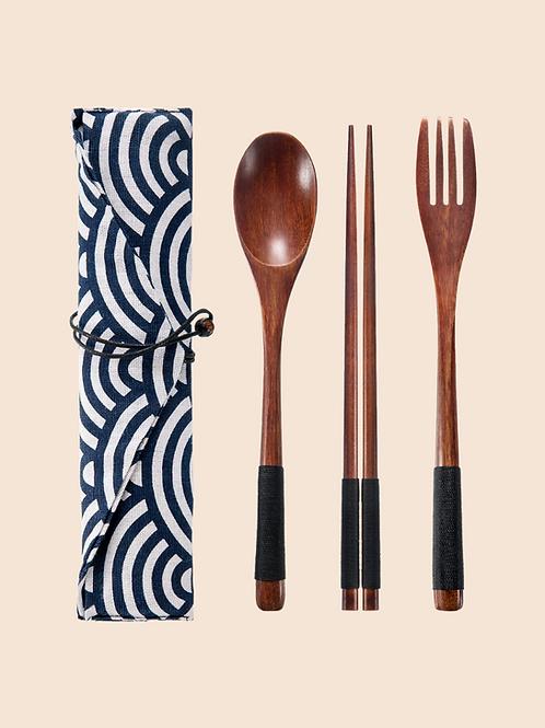 Reusable Wooden Cutlery