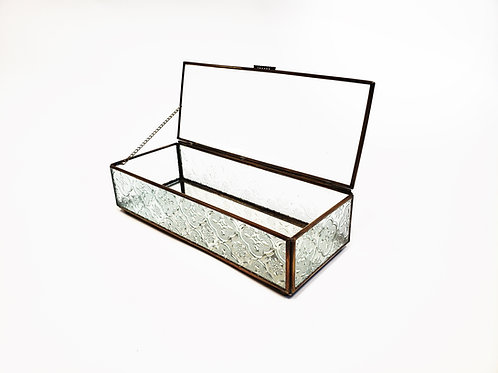 Glass Box - Rectangle (Watch Box)
