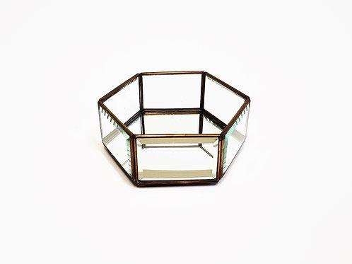 Glass Tray - Hexagon