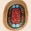 Thumbnail: Mali Oval Tray Batik