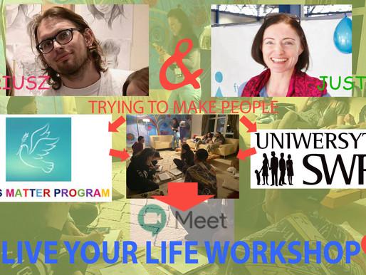 Live Your Life - On-line Workshop