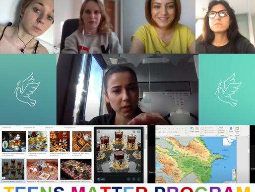 Teens Matter Program - On-line English Classes