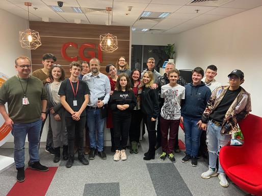 Teens Matter Program at CGI office