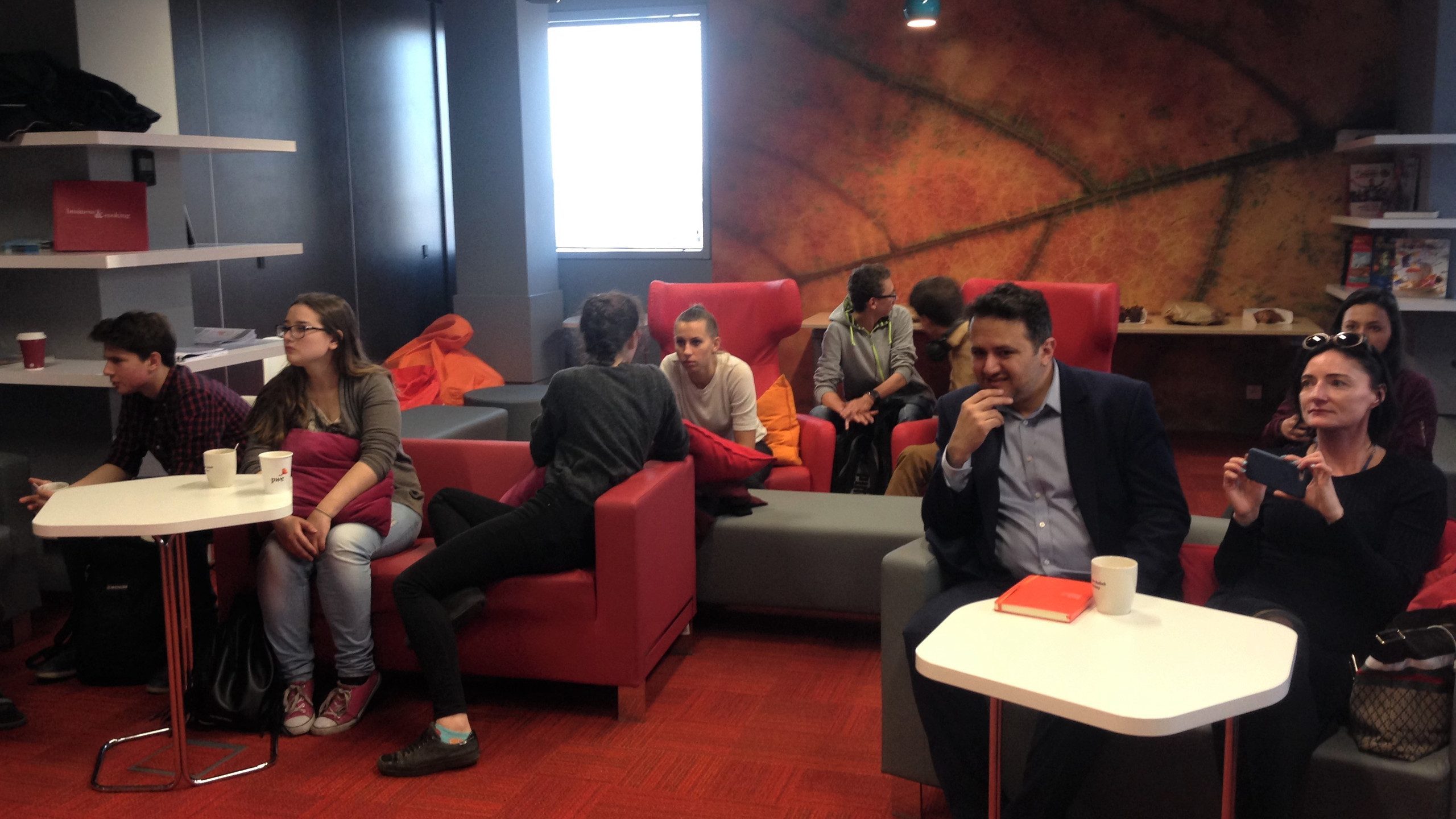 Teens Matter monthly meeting with special guest Jan Krzysztof Bielecki. 04.04.17, PwC, Warsaw