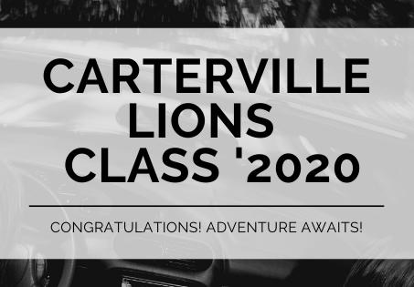 Congratulations Carterville Graduates - Class of 2020
