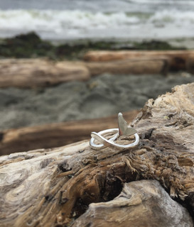 NEW!!  Whale Tail Ring