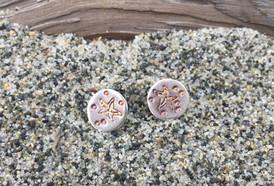 Tiny Starfish Studs - NEW!