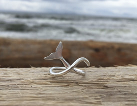 New Item!  Whale Tail Ring