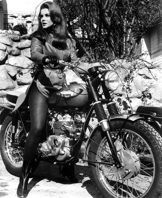 Woman on Bike - A2 or A1 print