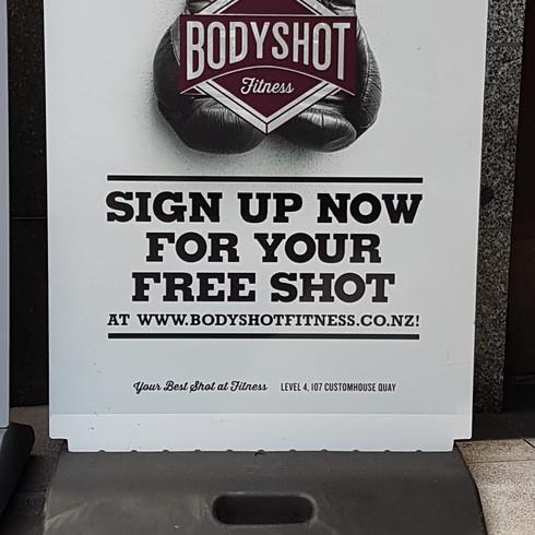 Footpath Signage