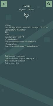 Plant Info Interface