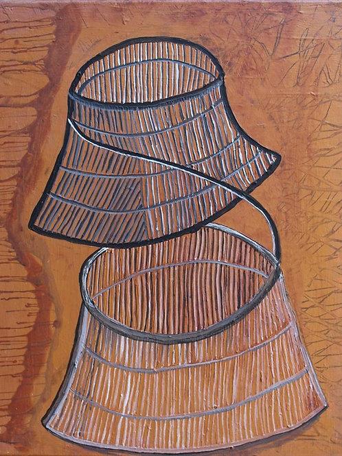 Painting: 'Brown Jawun '