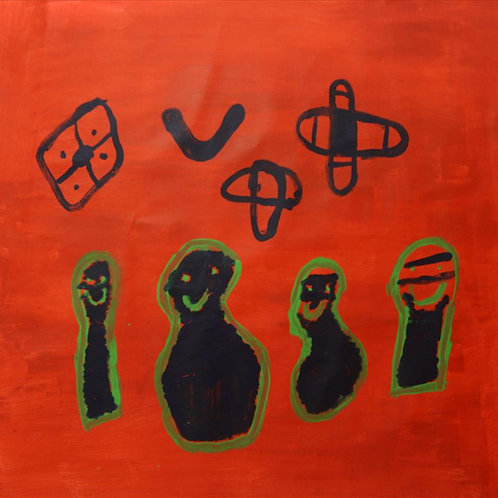 Painting: 'Bagu, Bigin, Warrginy, Burrbu-Birrbi'