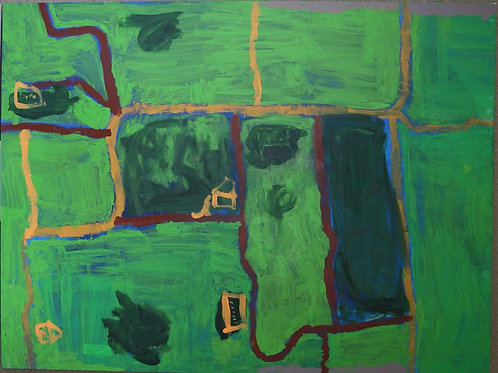 Painting: 'Map To Kyambul'