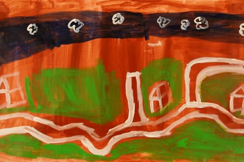 Painting: 'Mamu Walk Track'