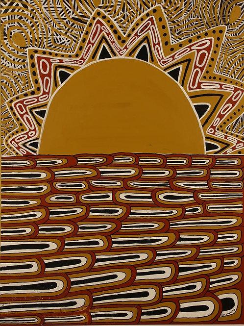 Painting: 'Sunset'