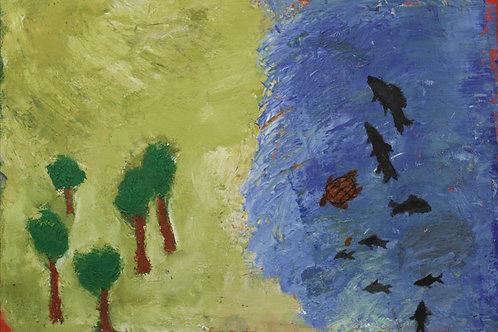 Painting: 'Seaside'