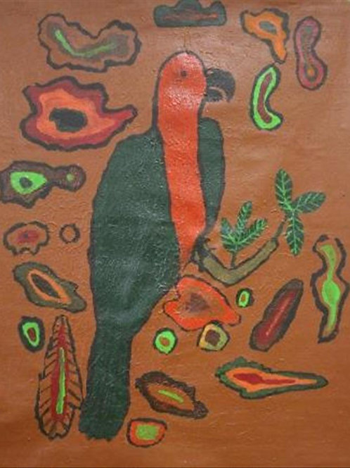 Painting: 'King Parrot'