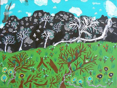 Painting: 'Yudai'