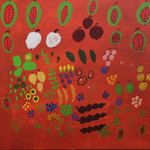 Painting: 'The Fruit We Collect'