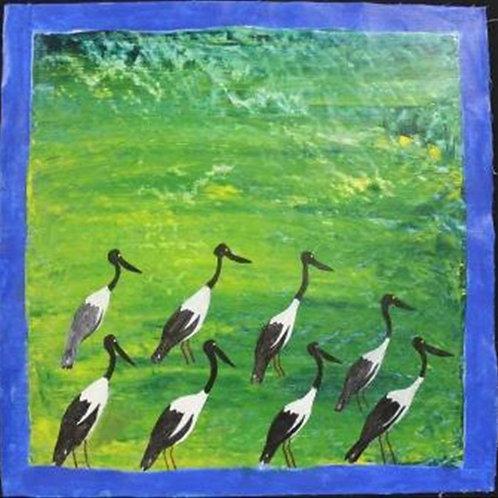 Painting: 'Jabiru'