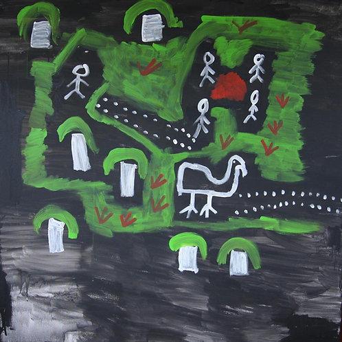 Painting: 'The Gunduy Story'
