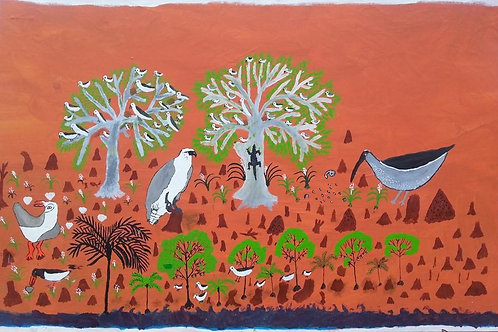 Painting: 'Boray Plain'