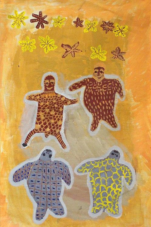 Painting: 'Ole Man Turtle'