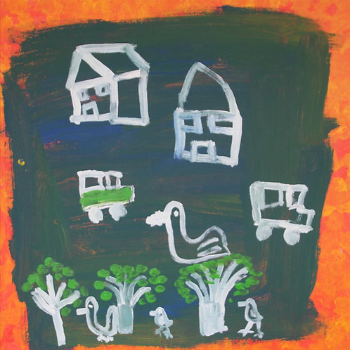 Painting: 'House In The Bush'