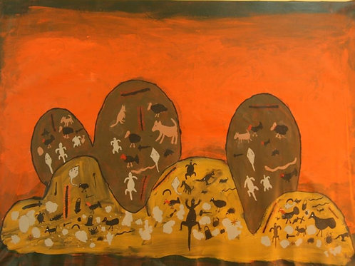 Painting: 'Cave Paintings'